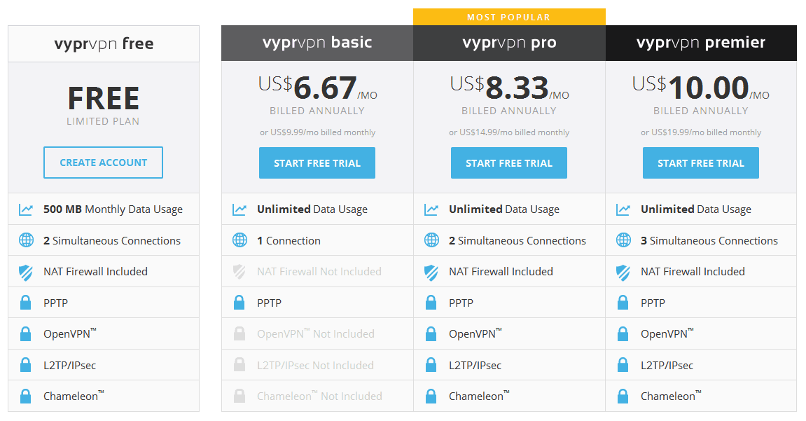 saas pricing model template - vyprdns reviews smart dns reviews